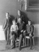 西奥多·罗斯福和他的四个儿子