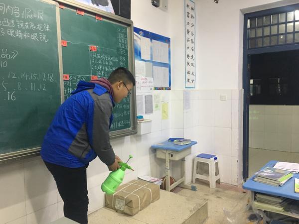 郑州市第八十五中学开展预防流感主题班会