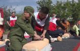 """迎接世界红十字日 响水开展""""关爱生命 救在身边""""广场宣传活动"""