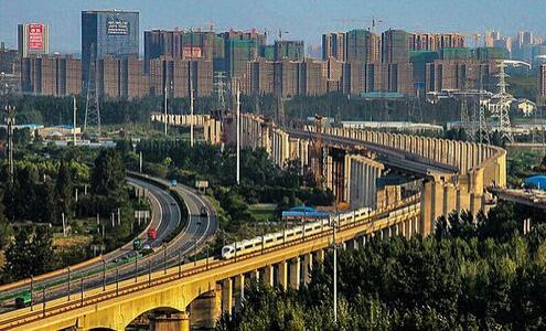 徐州高铁站京沪高铁环城高架