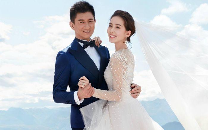 吴奇隆与刘诗诗巴厘岛大婚
