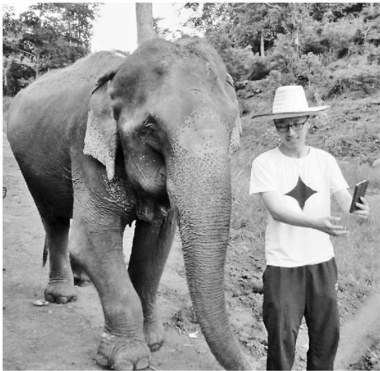 这个喜欢大象的少年有个酷酷的想法 世界名校抢着要他