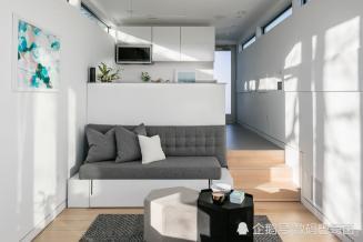 """33平米的""""垃圾箱房子""""长这样:设计简约集成高科技 卖88万元"""