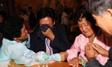 Dozens of ROK people cross DMZ to DPRK for rare family reunions