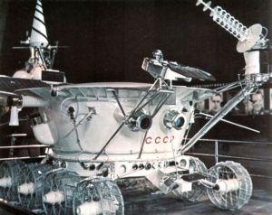 """""""月球""""17号探测器"""