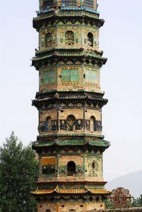 寿圣寺及琉璃塔