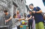 """""""烹茶以济行人"""" 童松达的前童爱心茶摊今年国庆开张"""