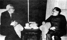 1979年,缪云台回国定居,邓小平亲自接见