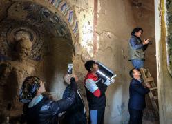 石窟里的中国