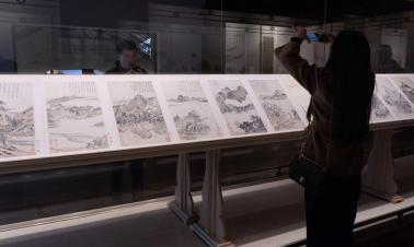 Dong Qichang exhibition now on at Shanghai Museum