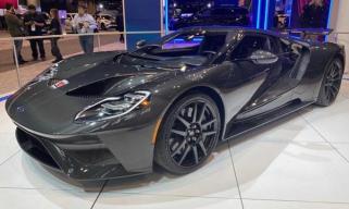 芝加哥车展:新款福特GT液态碳纤维版