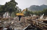 龙泉临江区块提前9天拆除违建厂房近10万平方米