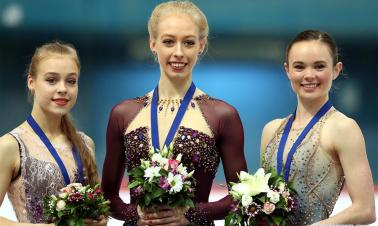 Bradie Tennell of USA claims title of Ladies Skating at ISU Golden Spin of Zagreb 2018