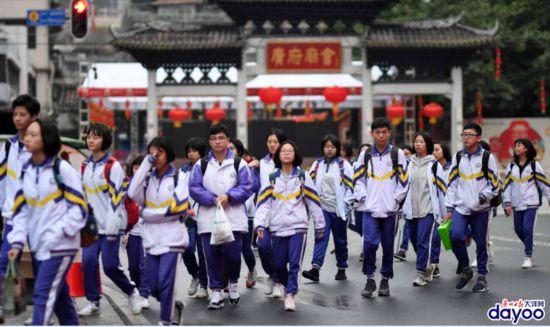 广州各中小学正式迎来开学第一天