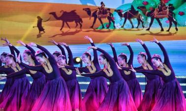 Square dance performance held in Beijing