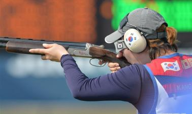 In pics: trap finals at 18th Asian Games