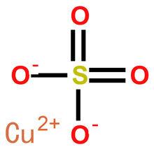 硫酸铜结构式