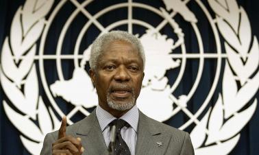 World mourns loss of Kofi Annan