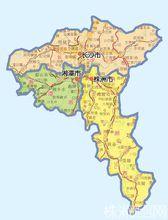 长株潭地图
