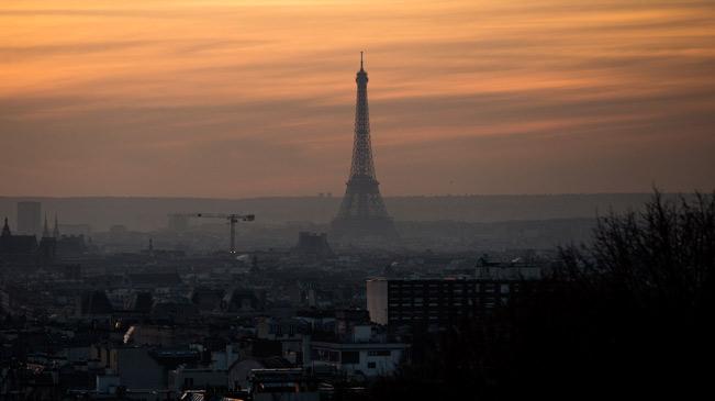 2016年12月的巴黎