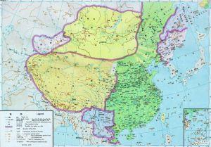 唐后期疆域图