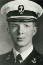 卡特年轻时的军装照
