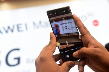 华为向科威特市场推出新款5G智能手机