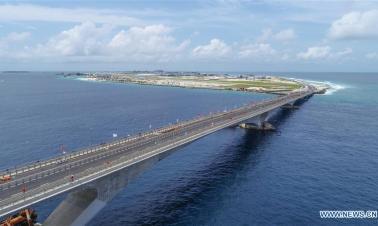 China-Maldives Friendship Bridge delivering benefits to Maldivian people