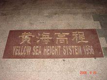 中国海拔基准点