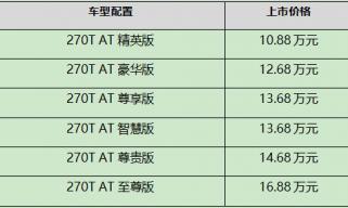 全新一代传祺GA6正式上市 售价10.88-16.88万元