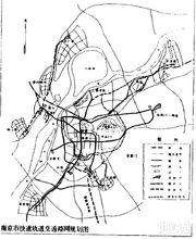 南京地铁1993年规划图