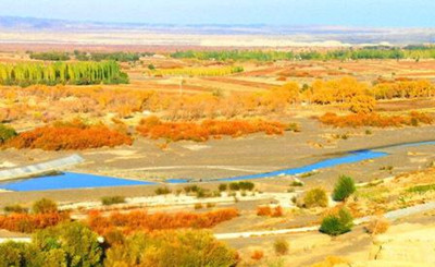 白杨河大峡谷