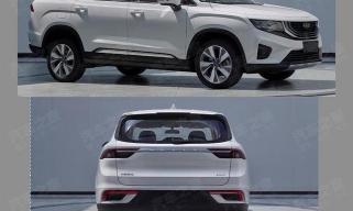 中型SUV 吉利VX11将于2020年年内推出
