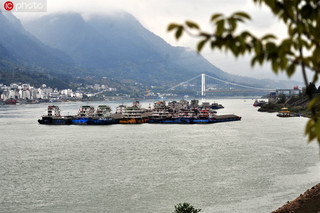 长江航运面貌焕然一新 货运量稳居世界第一