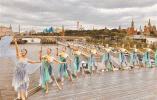 庆祝中俄建交70周年 《遇见大运河》克里姆林宫上演