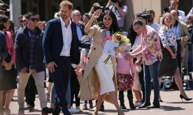 Royal couple Prince Harry, Meghan visit Australia