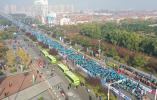 2019洪泽湖国际半程马拉松在淮安洪泽开跑
