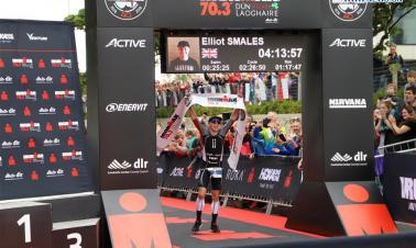 Ironman 70.3 contest held in Dublin