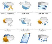 天气预报图标