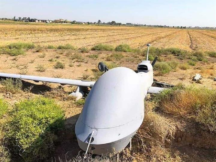 美媒称美MQ1C无人机在伊坠毁 可能遭电子干扰