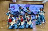六一儿童节,瑞安市湖岭山区的孩子们以多种方式献礼建党一百周年