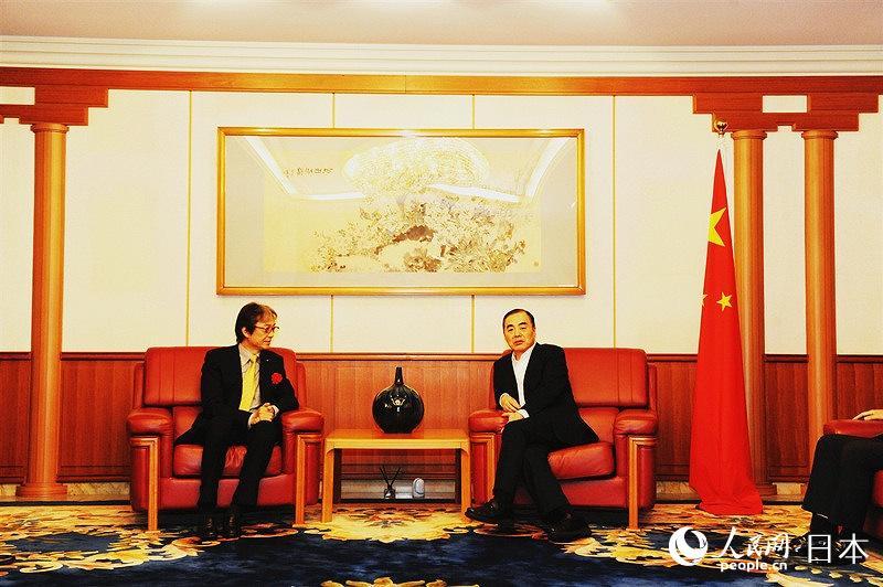 中国航空集团大型精准扶贫推介活动在中国驻日使馆举办