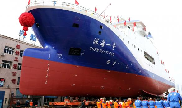 High-tech mother ship to fortify deep-sea ambitions