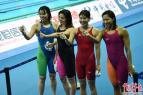 杭州短池游泳世锦赛高潮不断