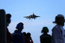 Navy's carrier-borne jet force takes off to hit a higher level