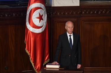 突尼斯总统赛义德宣誓就职