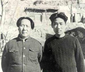 毛泽东与毛岸英